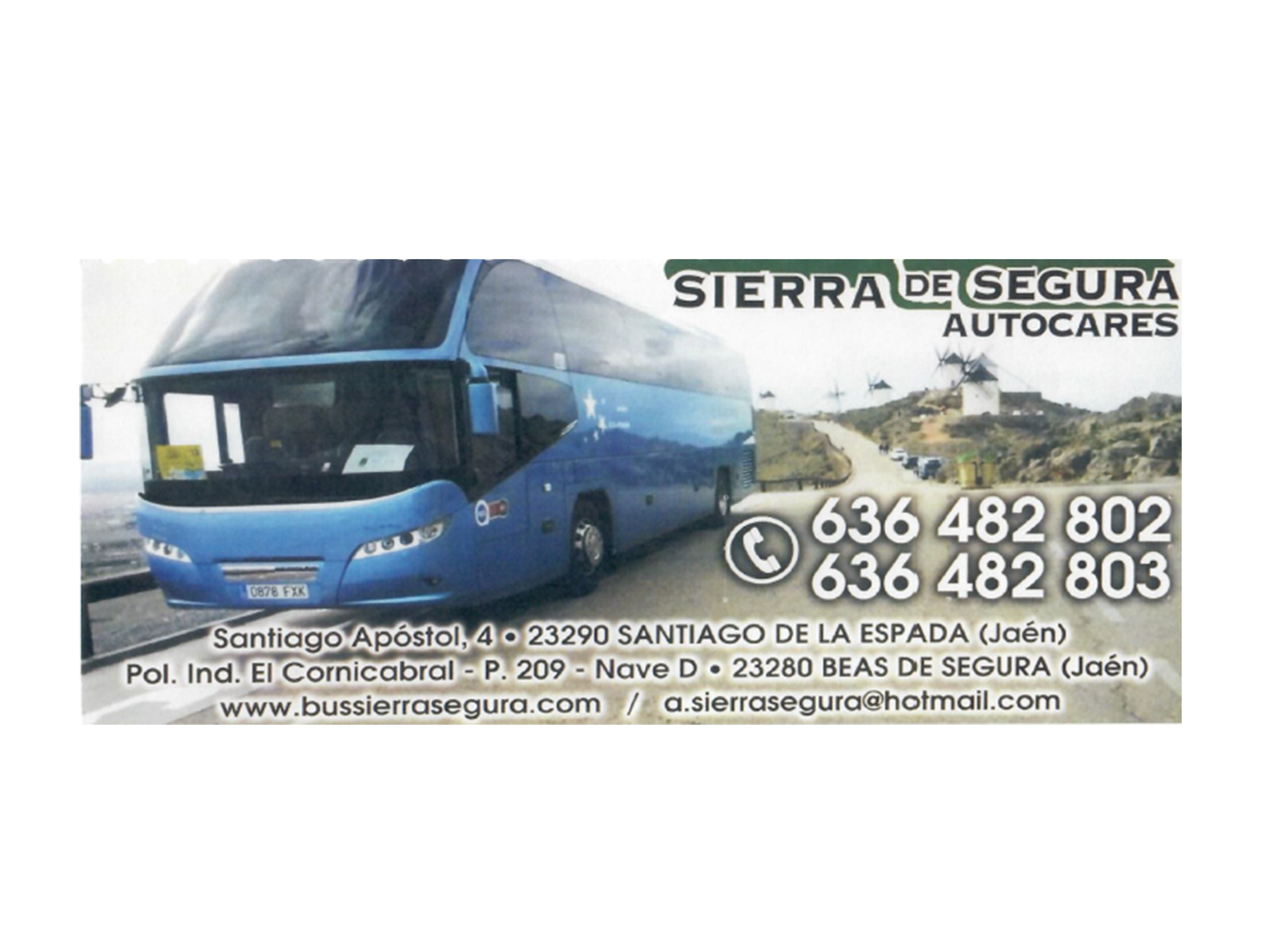 BUS SIERRA SEGURA